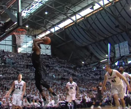 Xavier does it on both sides of ball