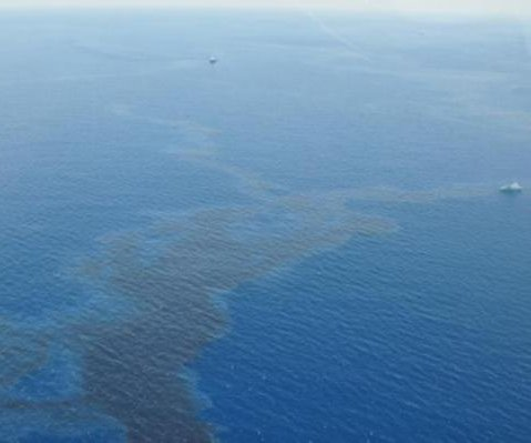 Shell working on repairs after Gulf of Mexico spill