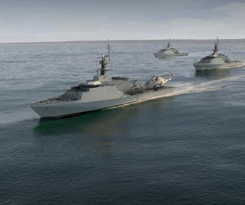 U.K. Royal Navy orders 2 River-class Offshore Patrol Vessels