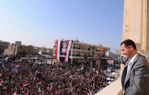 Syria's Assad says victory is close