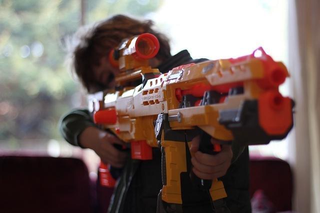 Fourth grader Ramsey McDonald suspended for bringing Nerf gun to school -  UPI.com