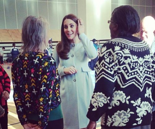 Kate Middleton says second child moves, kicks 'all the time'