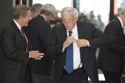 Hastert pleads not guilty in hush-money case