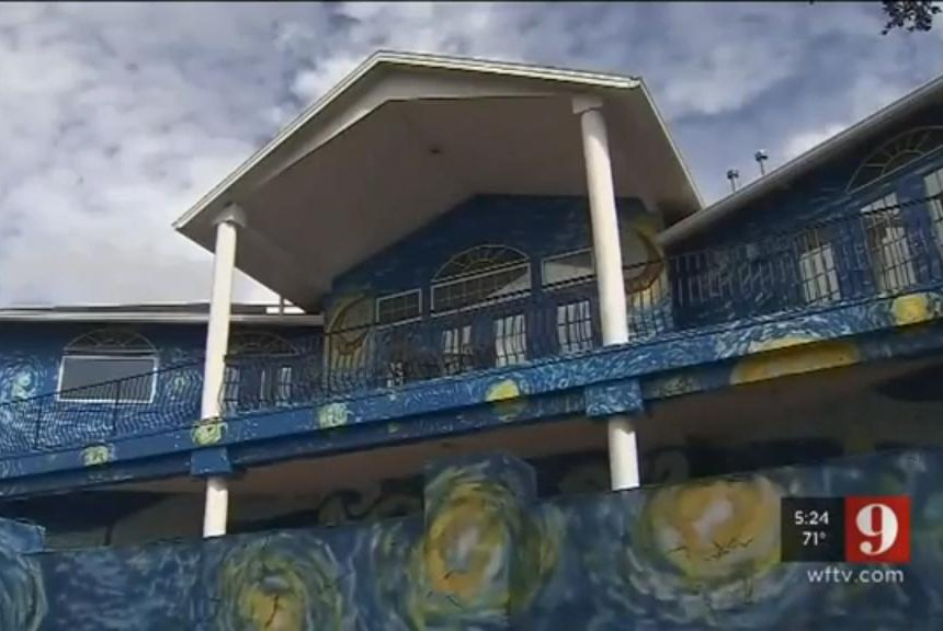 Watch Starry Night Mural Earning Florida 100 In Fines Per Day Upi
