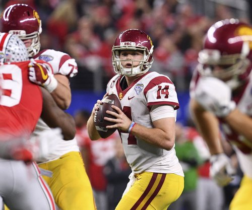 Rain doesn't dampen Darnold's standing at USC Pro Day
