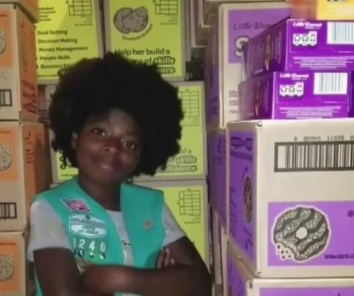 Girl Scout sells out of cookies thanks to viral Cardi B parody