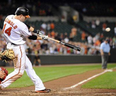 Baltimore Orioles win on Nolan Reimold's homer in ninth