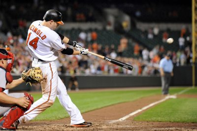 Baltimore Orioles win on Nolan Reimold's homer in ninth