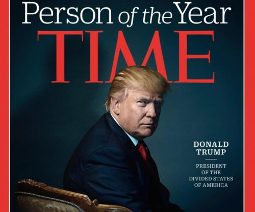Donald Trump is Time magazine's 2016 Person of the Year