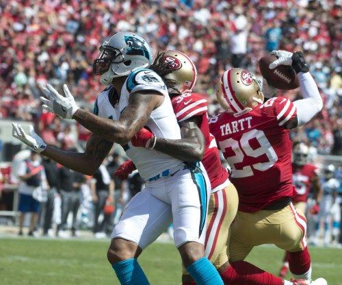 Carolina Panthers WR Kelvin Benjamin out with knee injury vs. New Orleans Saints