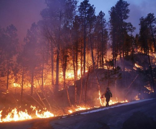 53K-acre South Dakota wildfire is 50 percent contained
