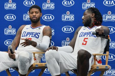 Clippers star Paul George out for preseason with shoulder injury
