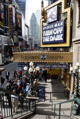 'Spider-Man' musical breaks records