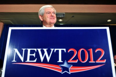 Gingrich gets own 'Late Show' Top 10
