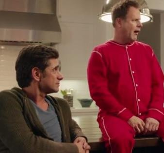 Dave Coulier, John Stamos, Bob Saget stage 'Full House' reunion for Super Bowl ad