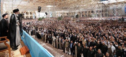 U.S. has removed military option, Iranian leader says