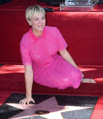 Kaley Cuoco receives star on Hollywood Walk of Fame