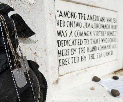 Japan, U.S. commemorate 70th anniversary of the Battle of Iwo Jima
