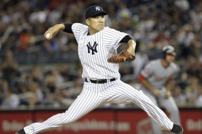 New York Yankees handle Washington Nationals for seventh straight win