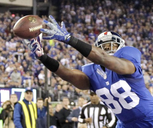 WR Hakeem Nicks returns to New York Giants