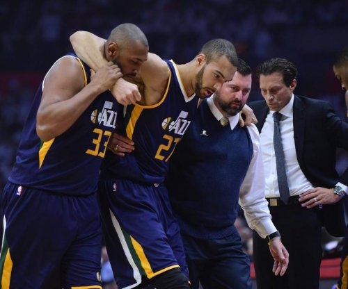 Jazz C Rudy Gobert to miss Game 2 against Los Angeles Clippers with knee injury