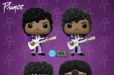 Funko Pop! line adds four versions of Prince
