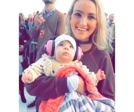 Jamie Lynn Spears brings daughter Ivey to Britney Spears show