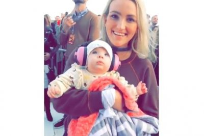 Jamie Lynn Spears brings daughter Ivey to Britney Spears show