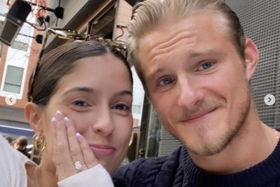 'Hunger Games' actor Alexander Ludwig is engaged