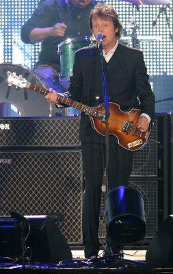 McCartney to receive Gershwin Prize