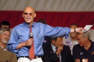 Carville tells Obama it's time to panic