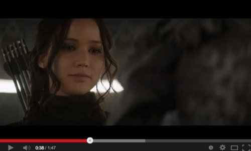 Jennifer Lawrence stars in first 'Hunger Games: Mockingjay' trailer