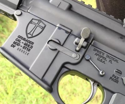 Florida gun shop's rifle designed to repel 'Muslim terrorists'