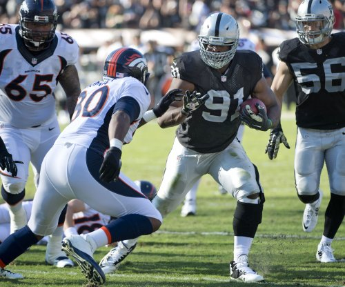 Oakland Raiders defensive end Justin Tuck out for season