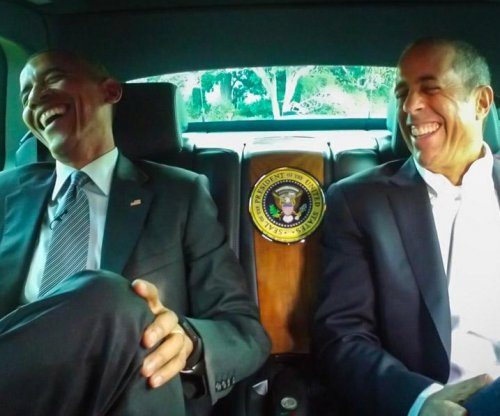 Barack Obama jokes with Jerry Seinfeld on season premiere of 'Comedians in Cars Getting Coffee'