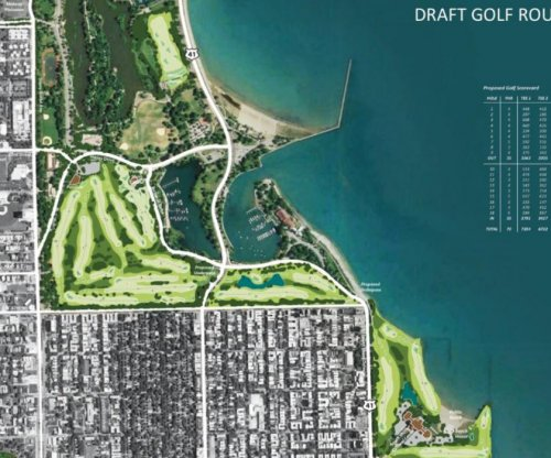 Tiger Woods firm releases designs for Chicago public golf course