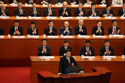 Chinese President Xi calls for 'peaceful reunification' with Taiwan