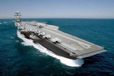 Ford-class carrier USS John F. Kennedy gets its command center