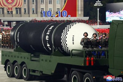 North Korea has up to 60 nuclear weapons, U.S. think tank says