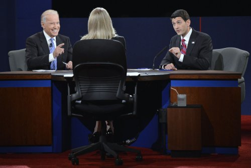 Biden, Ryan spar on Middle East, economy
