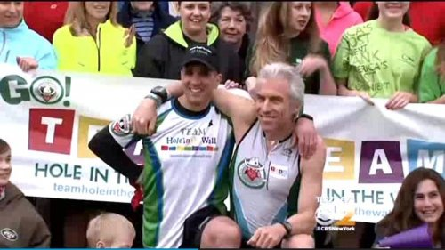 New Jersey man sets out on 224-mile run to Boston to honor marathon bombing victims