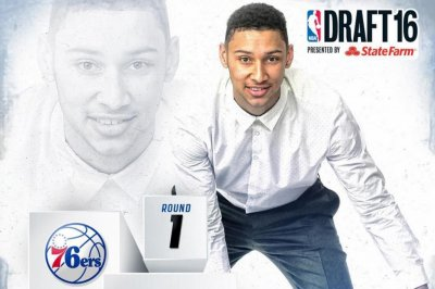 NBA Draft: Ben Simmons goes No. 1 to Philadelphia 76ers