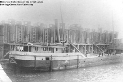 Ship sank by nor'easter 120 years ago discovered in Lake Erie