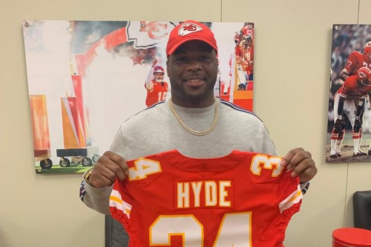 Image result for carlos hyde chiefs