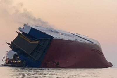 Four missing after cargo ship capsizes off Georgia coast