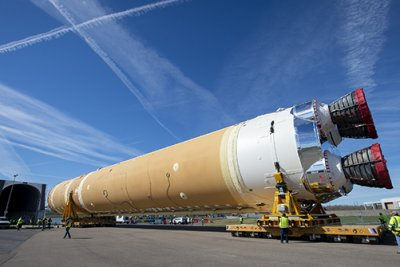 NASA suspends work on moon rocket amid pandemic