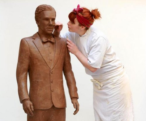 Benedict Cumberbatch rendered in chocolate by UKTV