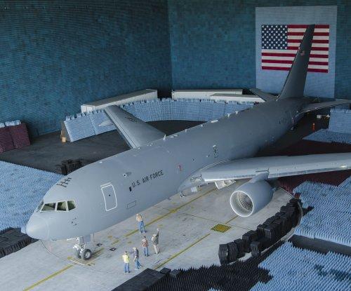 KC-46A tanker receives electronic testing