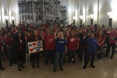 West Virginia tables charter schools bill amid teacher strike
