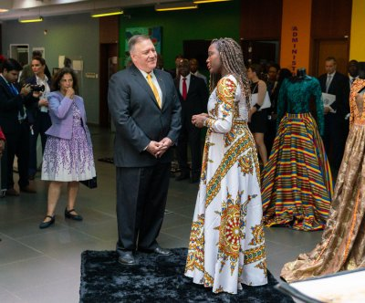 Pompeo visits Angola on second stop of 3-nation Africa tour